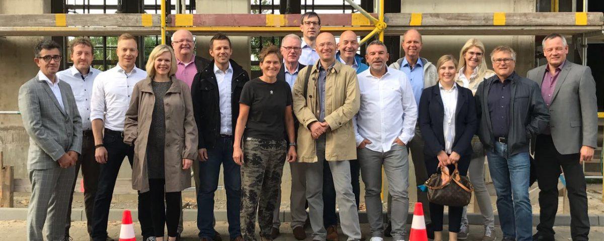 Die Gruppe der zweiten Innovationtour nach Berlin