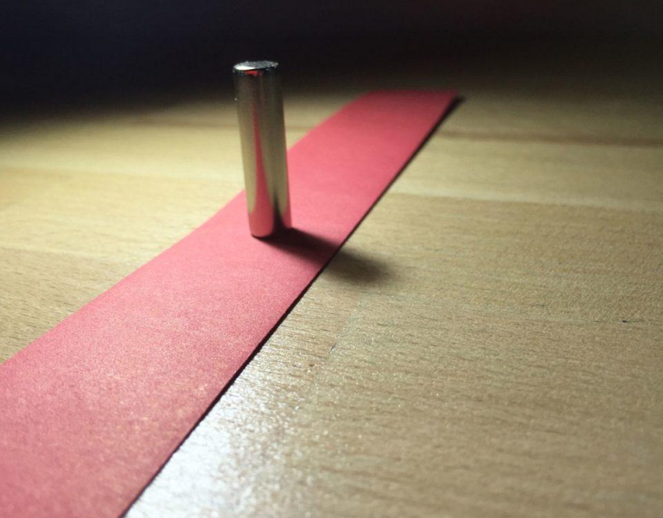 Magnet steht Modell