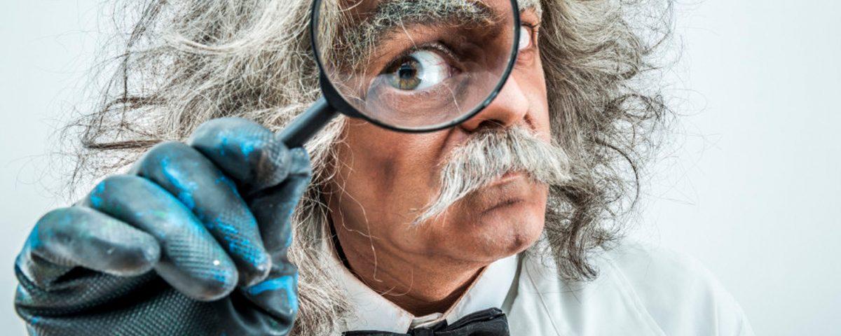 Wissenschaftler sucht Magnete