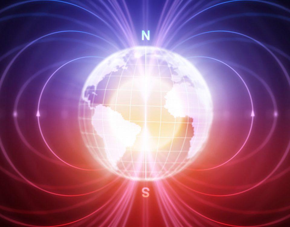 Felder magnetischer Erdanziehungskraft