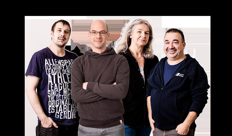 Mitarbeiter im Betrieb von Bauer & Böcker Remscheid Deutschland